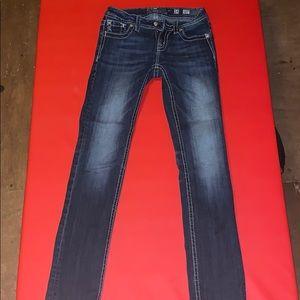 Women's miss me skinny blue  jeans 14